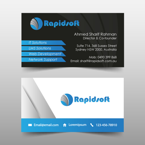 Standard business cards col aoz print graphics standard business cards col colourmoves